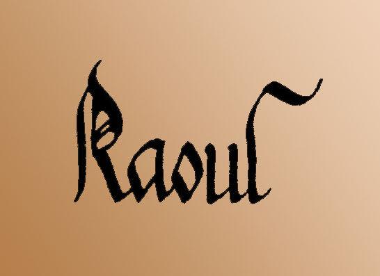 Pr Nom Cx Raoul L 39 Association Emily Calligraphy