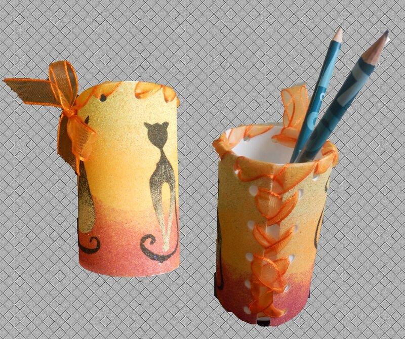 Pot crayons Annick