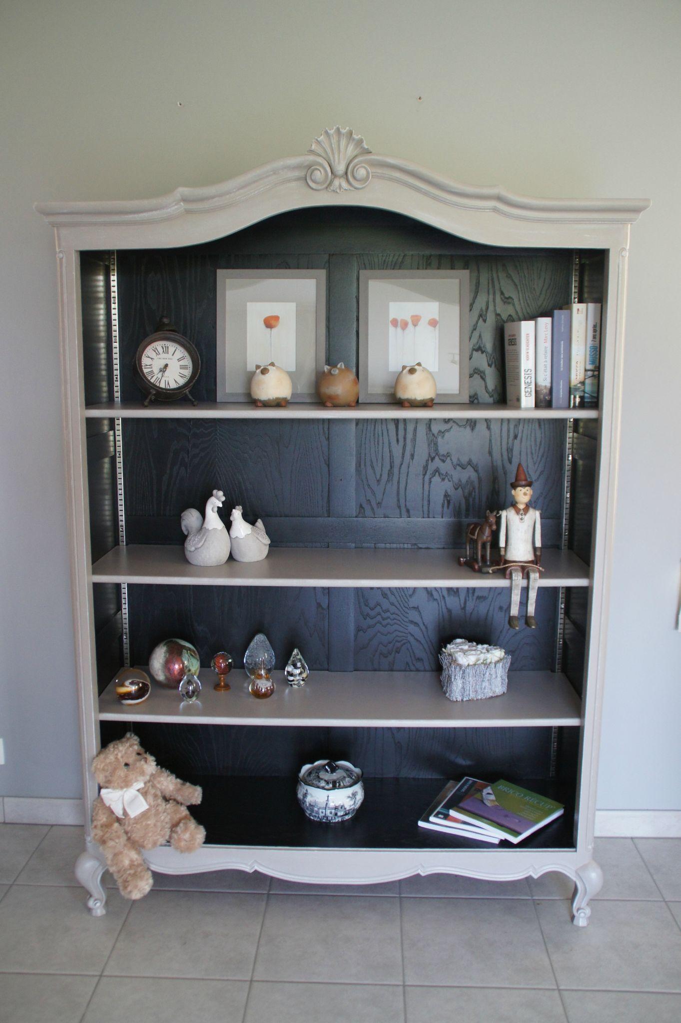 Biblioth que louis xv relooking meubles int rieur - Relooker une bibliotheque en merisier ...