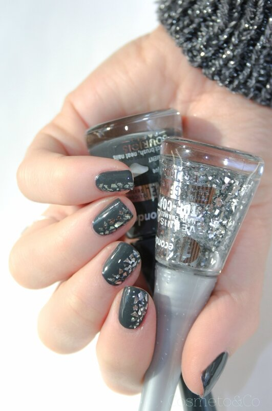 Bourjois ENCHANTING NIGHTBIRD Glitterizer Grey to meet you-6