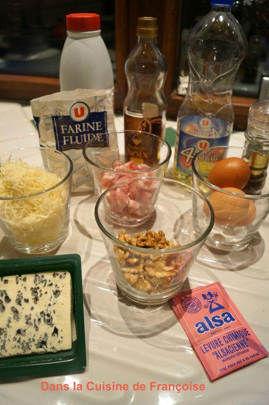 Recette Cake Noix Roquefort De Sophie Dudemaine