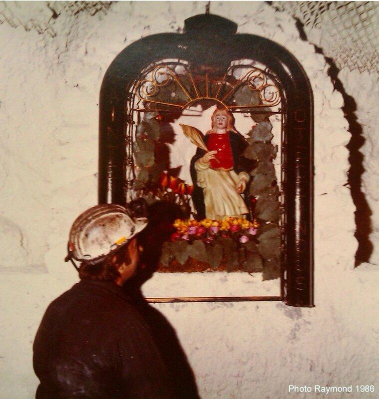 15_Henri GWIZDALA et Sainte Barbara ,croisé de PIGEOT