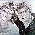Portraits dessin