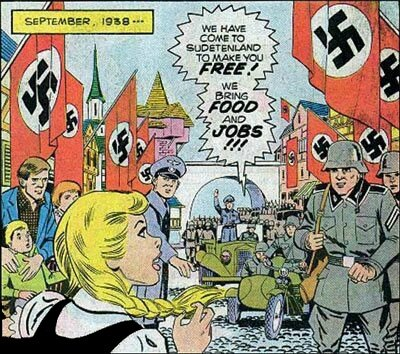 Nazi Comics - Hansi girl who loved the Swastika