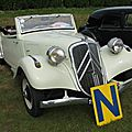Citroën traction 11b cabriolet (1937-1939)