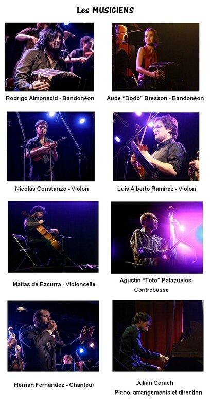 8 musiciens