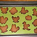 Biscuits pour halloween
