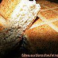 Gâteau aux blancs d'oeuf et noisettes