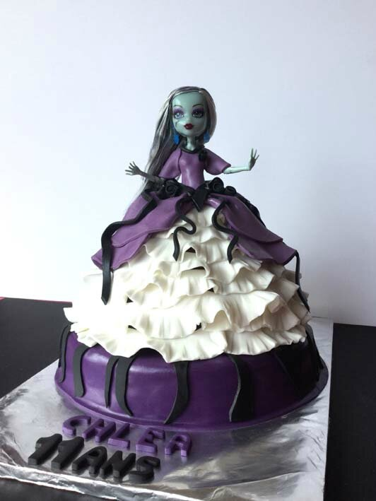 Gâteau Monster High