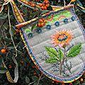 Pochette Fleur indienne II
