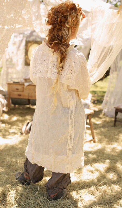 cotton-hyacynth-dress-with-eyelet-lace-pleats-bow-3-4-sleeve-ivory or white.1.jpg