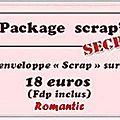 Info - package scrap secret