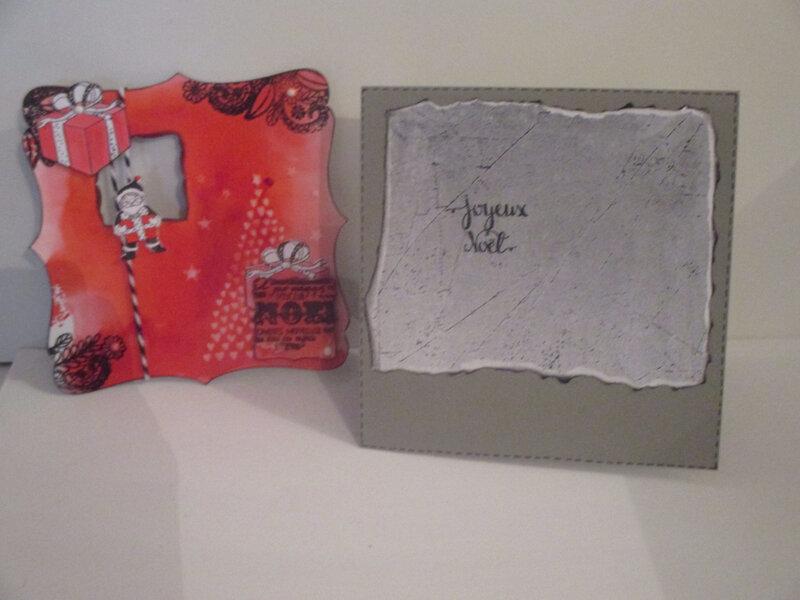 Fond de carte grise avec papier de fond déchiré à la main