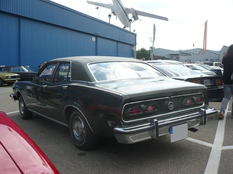 MERCURY Comet 4door Sedan 1975 Sinsheim (2)
