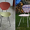 Nouveau look pour une nouvelle chaise