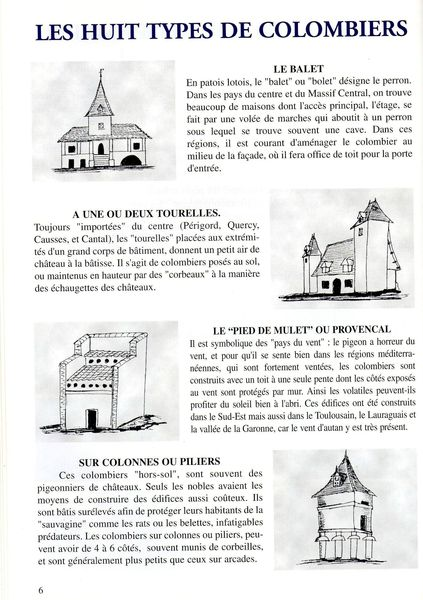 4 LES 8 TYPES DE COLOMBIERS P6