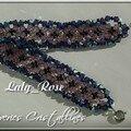 Bracelet sophie en perles de cristal swarovski