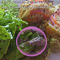 Roulé mi-pommes de terre mi-courgettes au jambon et mimolette (thermomix)