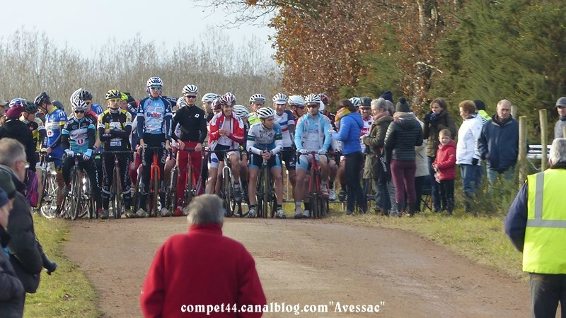 Avessac Cyclo-cross Seniors espoirs juniors 17 Décembre 2017