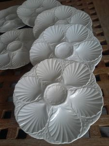 assiettes coquilles