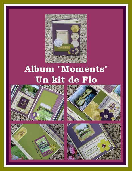 affiche kit album Moments