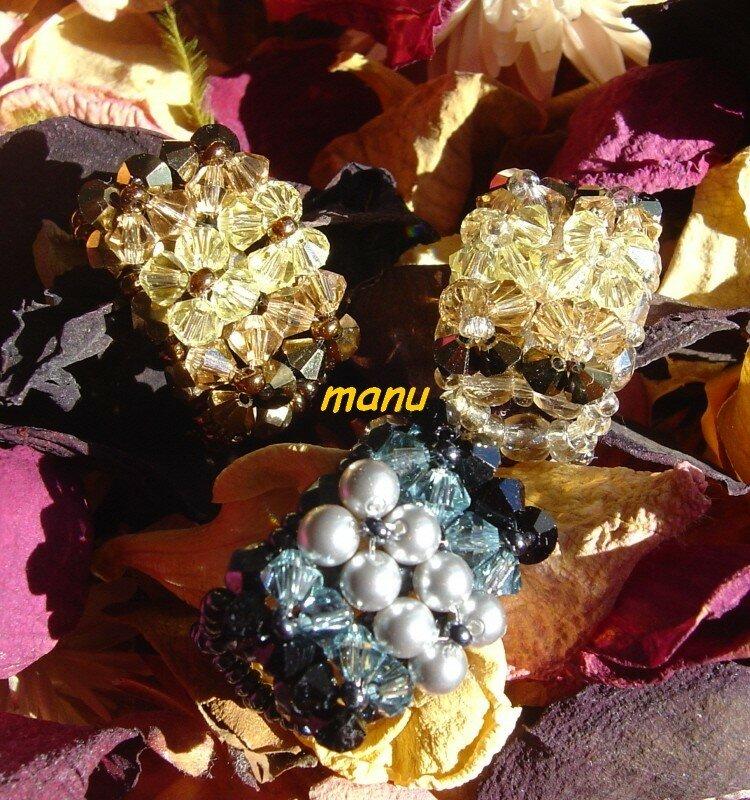 carré six fleurs