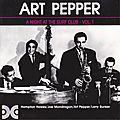 Art Pepper - 1952 - A Night At The Surf Club, Vol