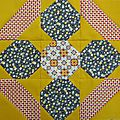 Cookbook quilt sal
