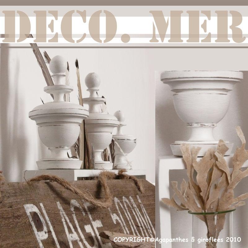 deco mer agapanthes et giroflees. Black Bedroom Furniture Sets. Home Design Ideas