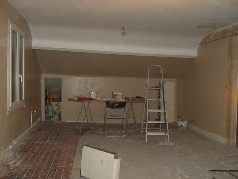 Week end fatiguant mais utile la reine de l 39 iode for Plafond peint en couleur