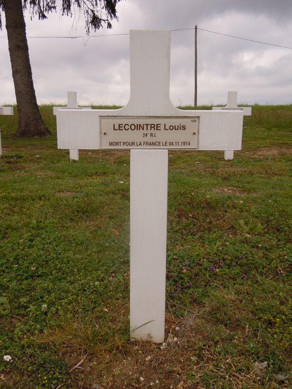 Bolbec, Lecointre Louis, NN Berry au Bac (Aisne)