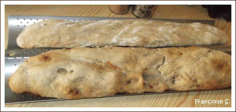 pain oignons et lardons
