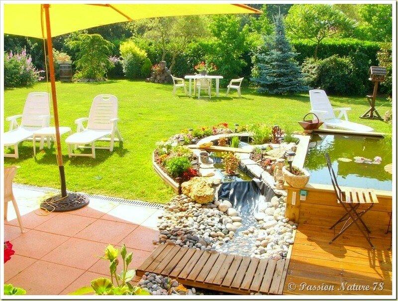 Le bassin...Mon petit coin de paradis (2)