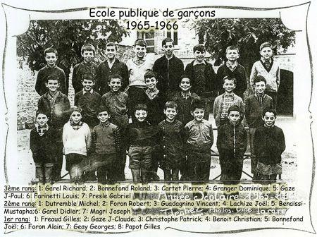 BOURG-GARCONS 1965-66 copie