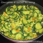 courgette surimi curry