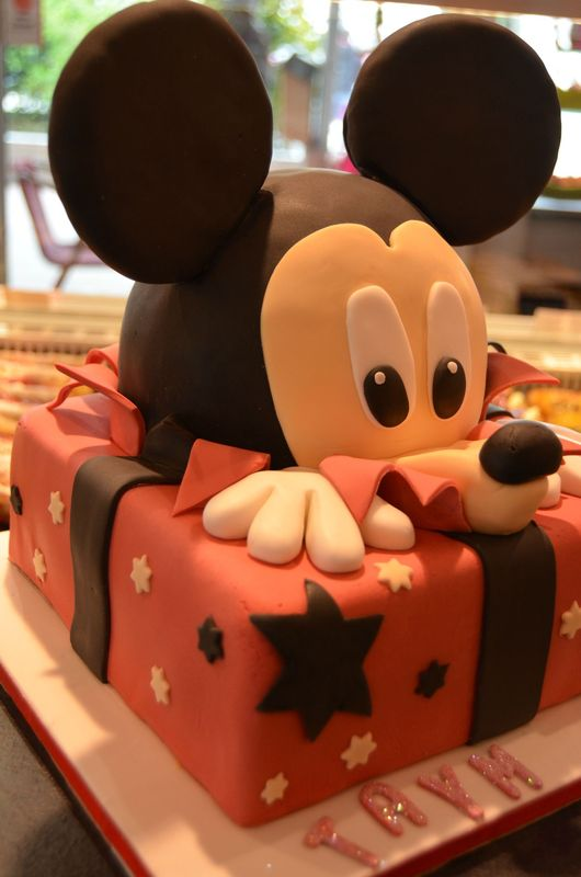 gateau mickey 3 D 007
