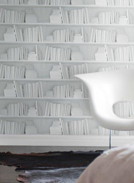 papier-peint-trompe-l-oeil-bibliotheque-blanche