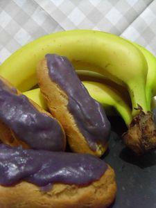 éclair banane