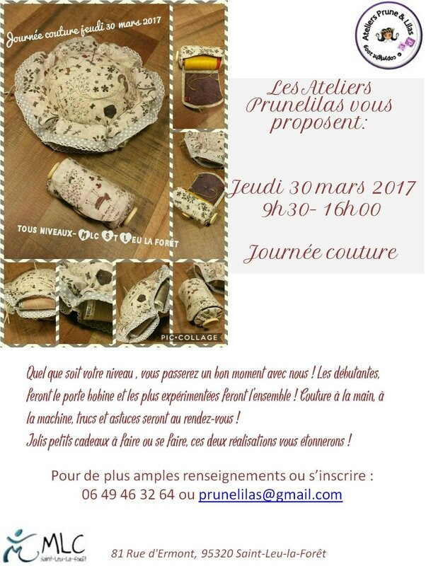 affiche mars couture 2017