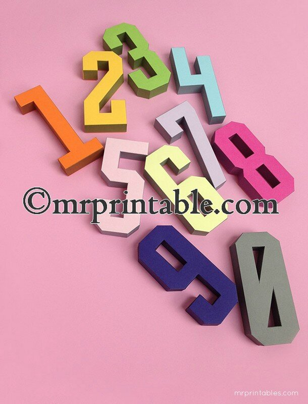 Mr-Printables-3d-number-templates-1