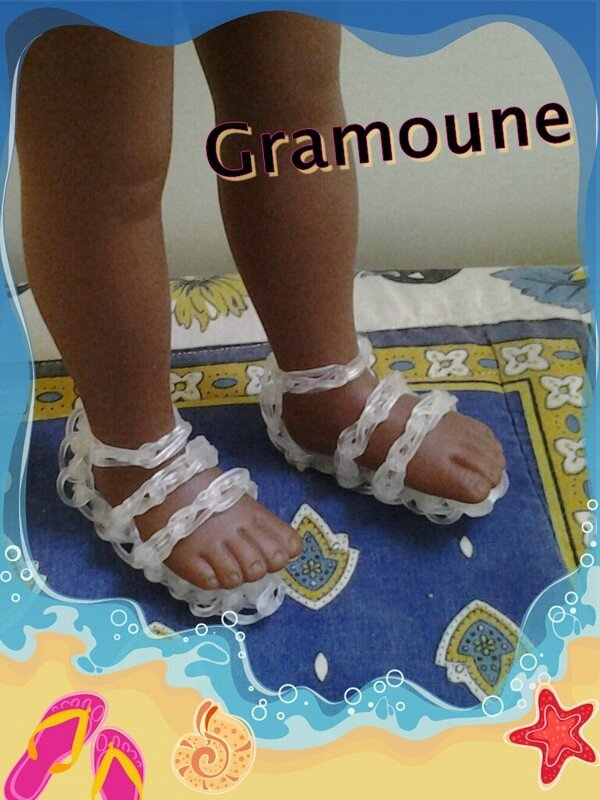 sandales looms pt