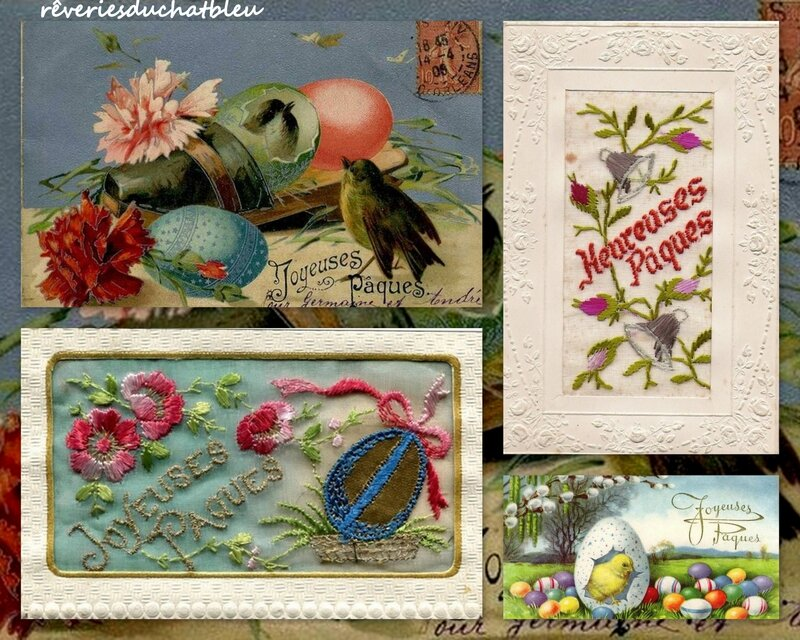 Images anciennes Paques