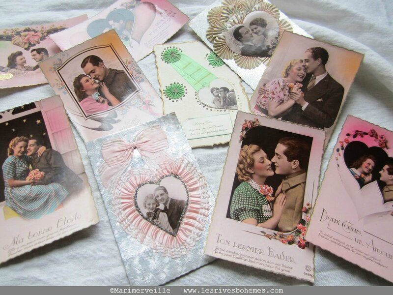 collection marimerveille cartes Saint valentin 2