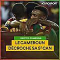 Buts egypte vs cameroun vidéo résumé (2-1)
