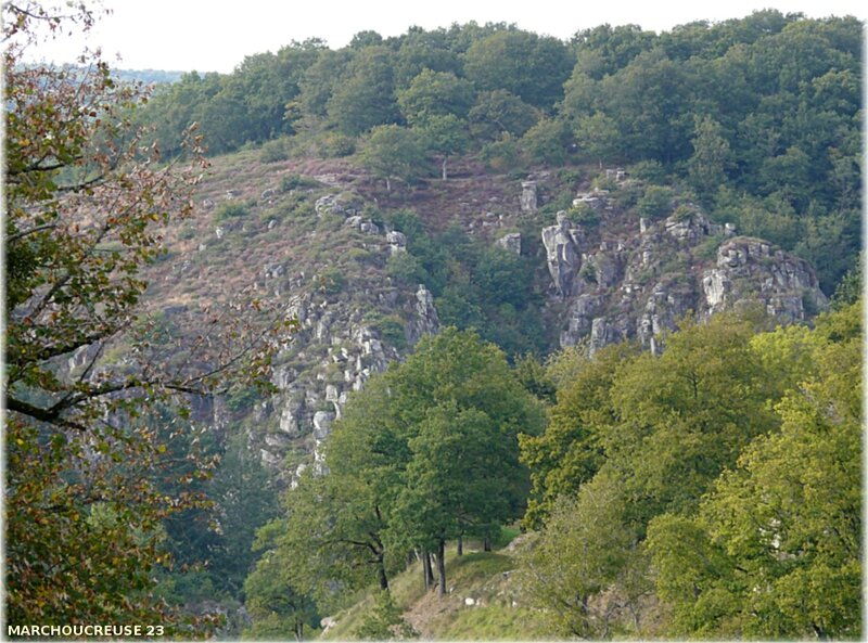 rocher en granite
