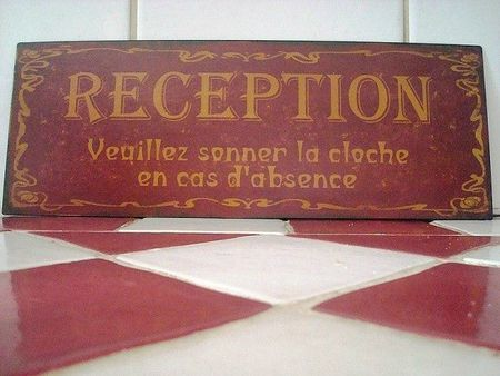 plaque-reception-aspect-vieilli-deco-retro