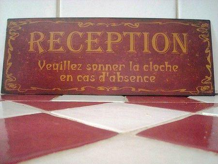 plaque-reception-aspect-vieilli-deco-retro