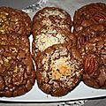 Cookies tout choco