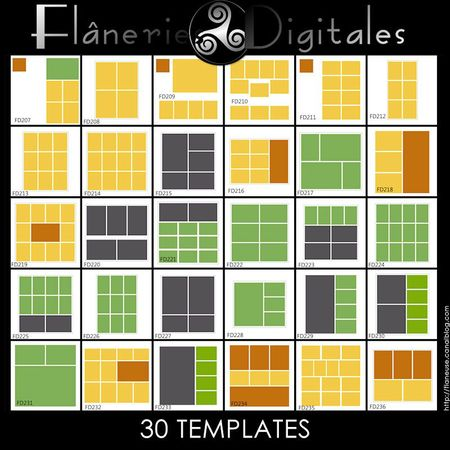 FlaneriesDigitales_30Templates_Pres