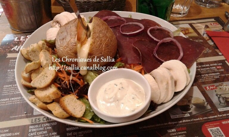 salade trappeur